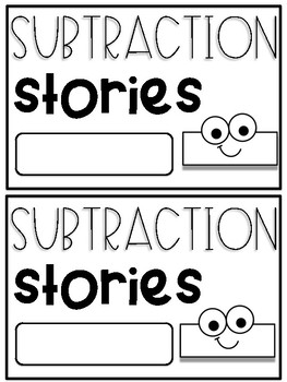 "Subtraction Stories:  A Mini Book Starring ""Linus the Minus Guy"""