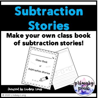 Subtraction Stories - Class Book