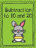 Subtraction Stories (to 10 and 20)