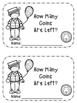 Subtraction Story Problem Booklets