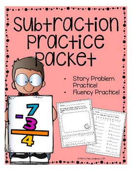 Subtraction Story Problem Packet