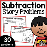 Subtraction Story Problems - Volume One