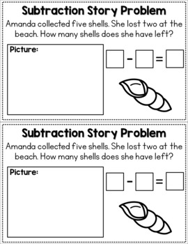 Subtraction Story Problems - Volume Two