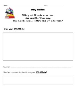 Subtraction Story Problems Bundle