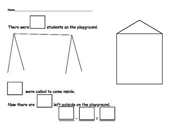 Subtraction Story Set