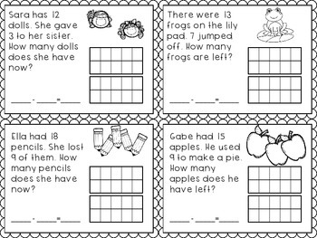 Subtraction Strategies- Aligns with Go Math G1 Ch4