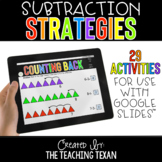 Subtraction Strategies Activities for Google and Distance