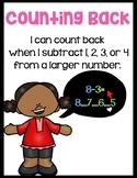 Subtraction Strategies Classroom Posters