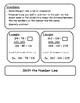 Subtraction Strategies Flip Chart