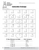 Subtraction Strategies, Gr. 1: Mixed Strategies Practice