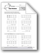 Subtraction Strategies, Gr. 1: Tens Partners