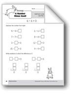 Subtraction Strategies, Grade 1: A Number Minus Itself