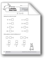 Subtraction Strategies, Grade 1: A Number Minus Itself
