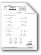 Subtraction Strategies, Grade 2: A Number Minus Itself