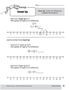 Subtraction Strategies, Grade 2: Count Up