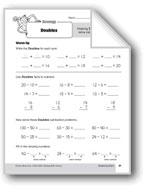 Subtraction Strategies, Grade 3: Doubles