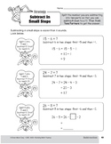 Subtraction Strategies, Grade 3: Subtract in Small Steps