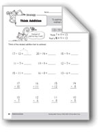 Subtraction Strategies, Grade 3: Think Addition