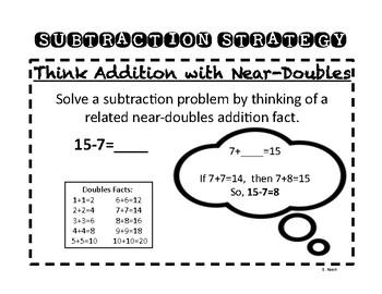 Subtraction Strategies Poster Bundle
