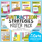 Subtraction Strategies Poster and Display Pack
