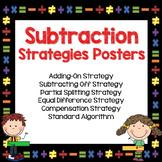 Subtraction Strategies Posters