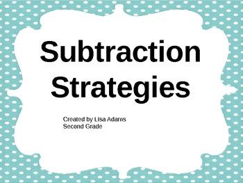Subtraction Strategies Power Point Presentation