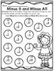 Subtraction Strategies Printables