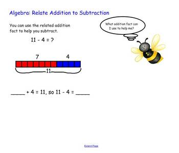 Subtraction Strategies SmartBoard activity Harcourt Grade 2