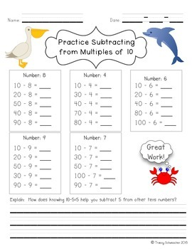 Subtraction Strategies for Common Core Math Instruction