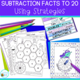 Subtraction Strategies for Number Fact Fluency