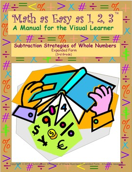 Subtraction Strategies of Whole Numbers-Expanded Form (3rd Grade)