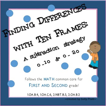 Ten Frames Subtraction Strategy by At the Core   TpT