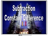 Subtraction Strategy (Constant Difference)