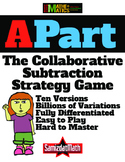 Subtraction Strategy Game: APart - 9 versions, billions of variations, FUN!