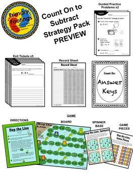 Subtraction Strategy Pack: Count On