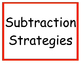 Subtraction Strategy Posters
