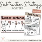 Subtraction Strategy Posters   BOHO NEUTRAL Colour Palette   Neutral Decor