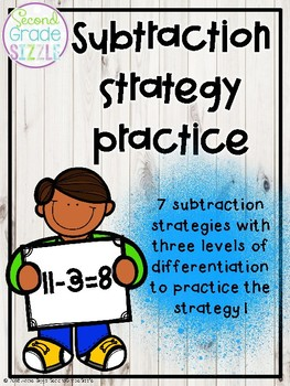 Subtraction Strategy Practice- Differentiated!