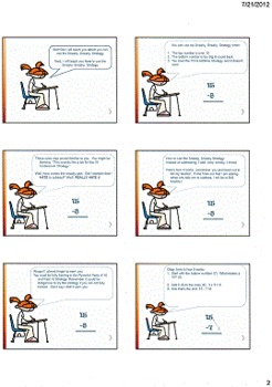 Subtraction Strategy for Hard Subtraction Facts