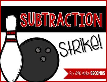 Subtraction Strike FREEBIE!