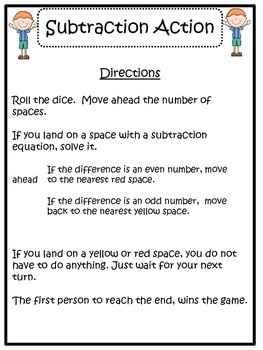 Subtraction Game: Subtraction Action