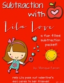 Subtraction ( Subtraction with Lila Love Valentine's Day Packet)