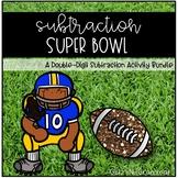 Subtraction Super Bowl-Double-Digit Subtraction Activity Bundle