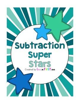 Subtraction Super Stars