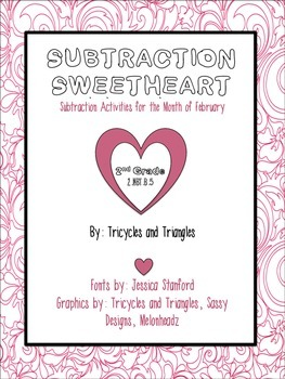 Subtraction Sweetheart- A Valentine's Day Activity
