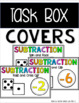 Subtraction Task Box Games