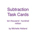 Subtraction Task Cards