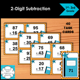 Subtraction Task Cards 2-Digit by 2-Digit Numbers