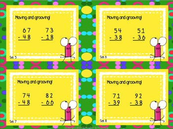 *FREE* ~ Subtraction Task Card