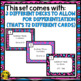 Subtraction Task Cards Grade 3
